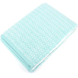 Drap de bain 100x150 cm GRAPHIC HOOK bleu