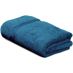 Drap de bain 100x150 cm ROYAL CRESENT Bleu Céleste 650 g/m2