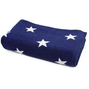 Drap de bain 85x200 cm 100% coton 480 g/m2 STARS Bleu Marine