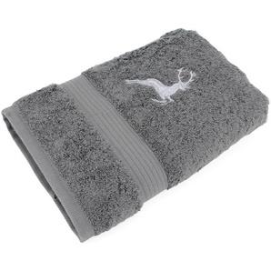 Drap de douche 70x130 cm HIRSH Anthracite/Gris 600 g/m2
