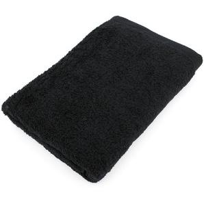 Drap de douche 70x140 cm PURE Noir 550 g/m2
