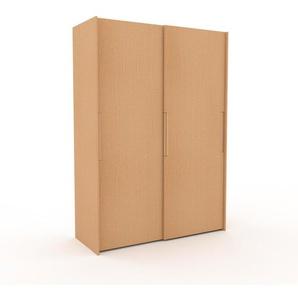 Dressing - Hêtre, design, armoire penderie pour chambre ou entrée, haut de gamme, avec portes coulissantes - 164 x 233 x 65 cm, modulable