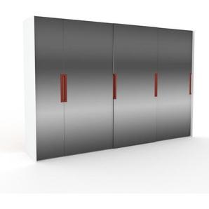 Dressing - Miroir, design, armoire penderie pour chambre ou entrée, haut de gamme, avec portes coulissantes - 354 x 233 x 65 cm, modulable