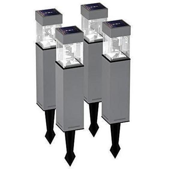 DURACELL - Borne solaire LED rectangulaire lot de 4