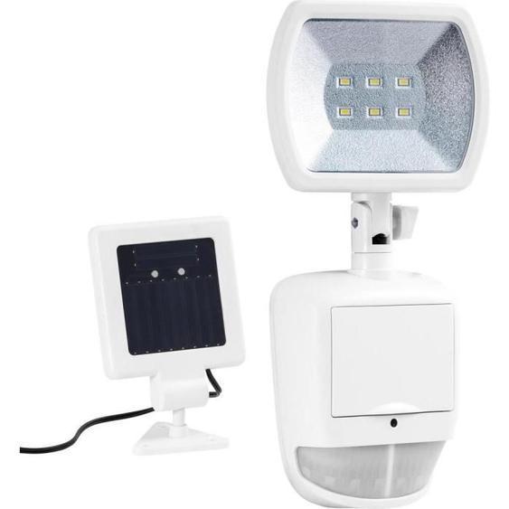 DURACELL - Projecteur solaire de securité 120 lumens blanc
