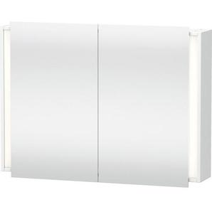 Duravit Ketho Armoire de toilette avec éclairage 100x75x18cm avec 2 portes blanc KT753201818