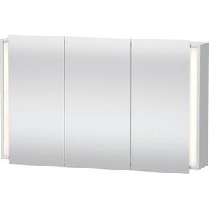 Duravit Ketho Armoire de toilette avec éclairage 120x75x18cm avec 3 portes blanc KT753301818
