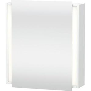 Duravit Ketho Armoire de toilette avec éclairage 65x75x18cm gauche avec 1 porte blanc KT7530L1818