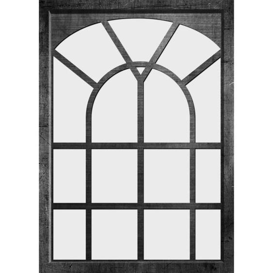 ARTESANIA EDOUARD Miroir fenêtre - 50x70 cm - Noir