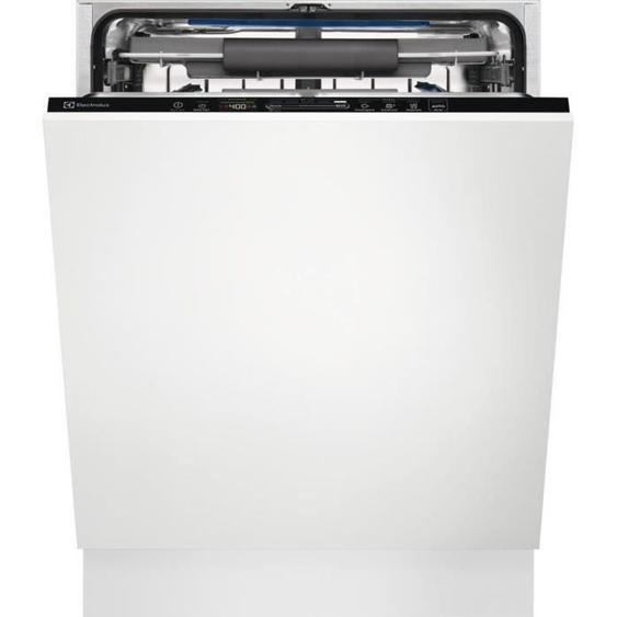 Lave-vaisselle encastrable ELECTROLUX EES69300L Série 600 Quickselect - 15 couverts - Moteur induction - Classe A+++ - 46 dB