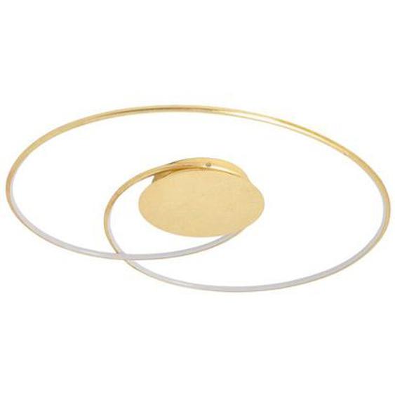 Élégant plafonnier LED Joline, doré