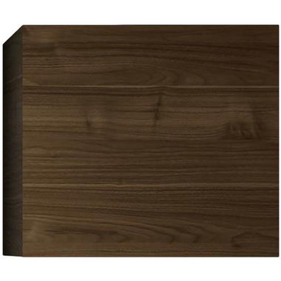 Élément mural carré finition bois foncé ETERNEL