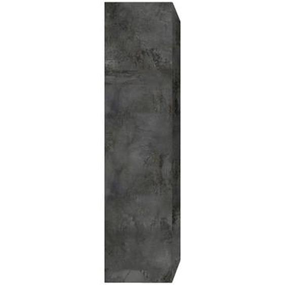 Élément mural TV vertical finition métal ETERNEL