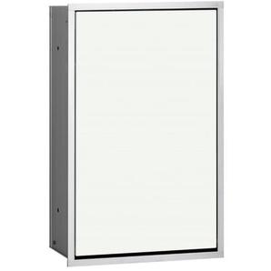 Emco Asis Module 300 Poubelle à pédale 31.4x49.5cm aluminium/blanc 973227430