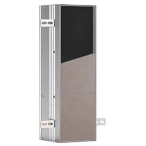 Emco Asis module closetborstelgarnituurmodule inbouw aluminium 975611009