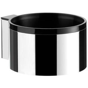 Emco System 2 Support pour sèche cheveux chrome/noir 355900100