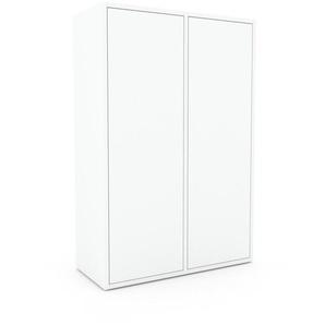 Enfilade - Blanc, modèle de caractère, buffet, avec porte Blanc - 79 x 118 x 35 cm, modulable