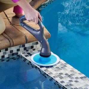 Épurateur électrique multifonctionnel de nettoyage salle bains cuisine brosse avec 4 têtes