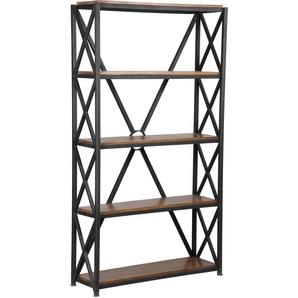 Etagère acier 5 niveaux croisillons