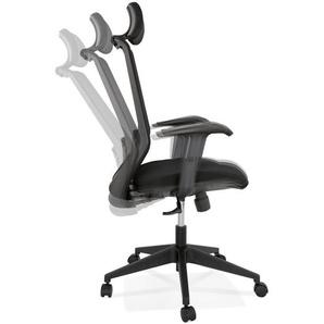 Fauteuil de bureau ergonomique VEKTOR noir design