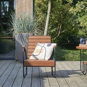 Fauteuil de jardin en bois de teck Key Wood