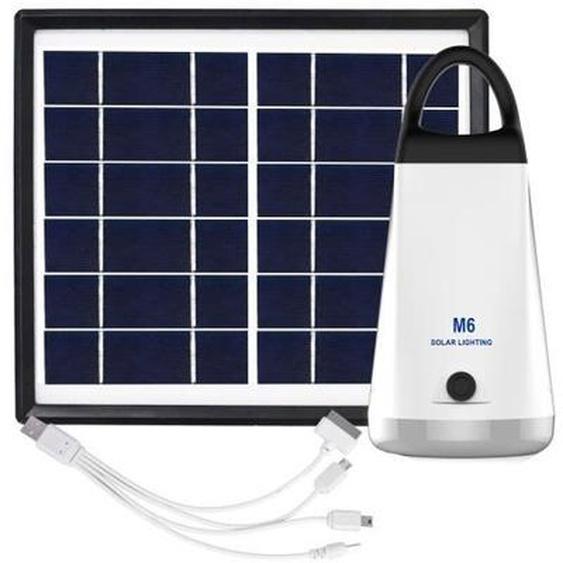 GALIX Kit déclairage à énergie solaire - Lampe H 15,5 x Ø 70 mm