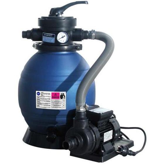 GRE Groupe de filtration à sable 4m³/h pour piscines hors-sol ou enterrées