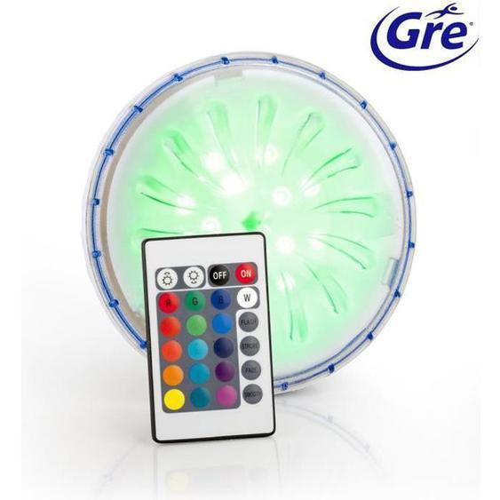 GRE Projecteur - LED Couleur - pour piscines hors-sol paroi en acier/métal