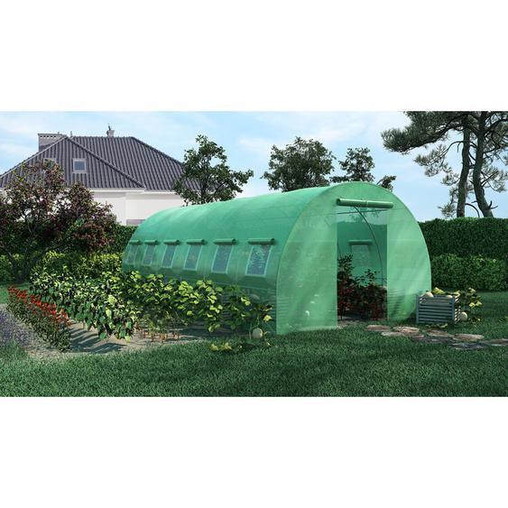 Green Roof - Serre de Jardin Tunnel 18m2 - 6x3m