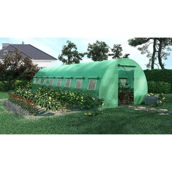Serre de Jardin Tunnel 24m2 - 8x3m - Green Roof