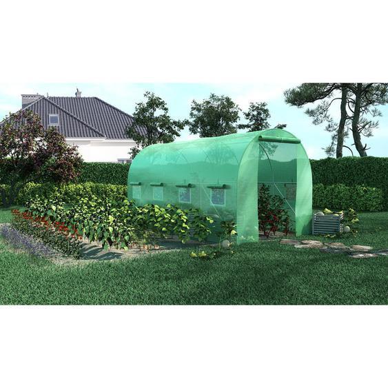 Serre de Jardin Tunnel 8m2 - 4x2m - Green Roof