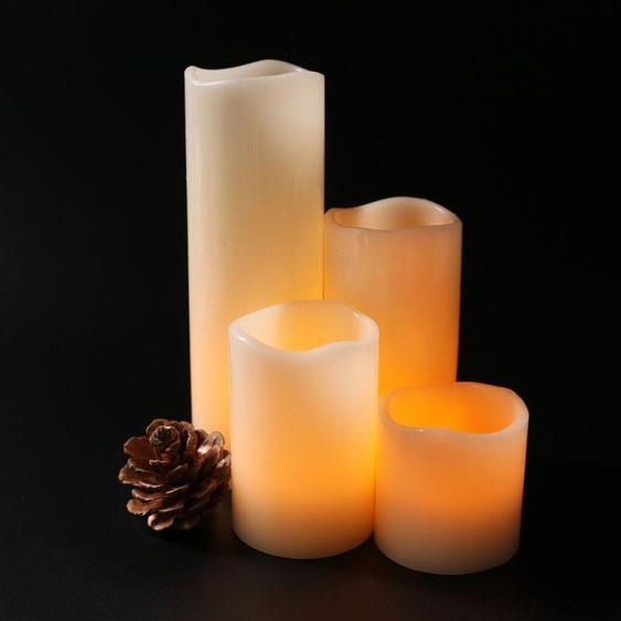 Guirlande Led 4 En 1 Télécommande Yello Light Lampe De Bougie Halloween Noël Lumière Décorative