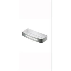 Hotbath Archie Design panier de douche droit avec insert en matière synthétique inox ARA18IX