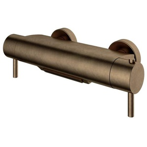 Hotbath Buddy Robinet de baignoire thermostatique avec bec cascade laiton antique B021AB