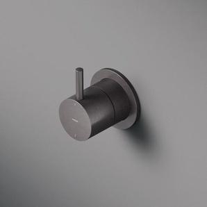 Hotbath Cobber Robinet douche encastrable trou(s) de robinet avec inverseur noir mat HBCB011/CB011EXTBL