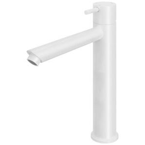 Hotbath Cobber Mitigeur 1 trou rehaussé blanc mat CB003HSWH