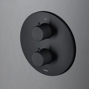 Hotbath Cobber Mitigeur douche encastrable trou(s) de robinet trou(s) de robinet avec inverseur 2 voies noir mat CB009BL