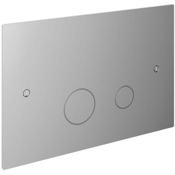Hotbath Cobber Plaque de commande compatible avec Geberit UP320 chrome CBA320CR