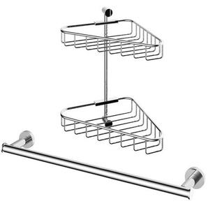 Hotbath Cobber set daccessoires douche 2 pièces chrome SW74019-73936