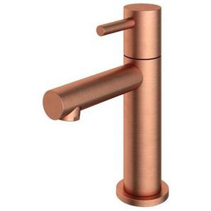 Hotbath Dude Robinet lave mains bec L à poser cuivre brossé E001BC