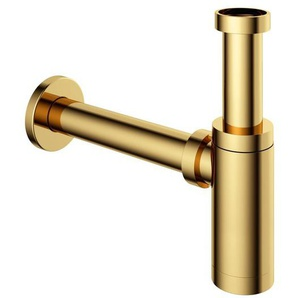 Hotbath Cobber Siphon lavabo laiton poli PVD P035NBP