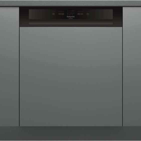 Lave-vaisselle encastrable HOTPOINT HBC2B+26B - 14 couverts - Moteur induction - Largeur 60 cm - Classe A++ - 46 dB - Bandeau inox/s