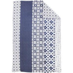 Housse de couette 140x200 cm 100% coton PADANG bleu