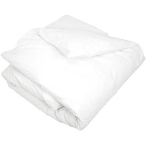 Housse de couette uni 140x200 cm 100% coton ALTO Blanc