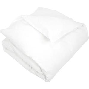 Housse de couette uni 200x200 cm 100% coton ALTO Blanc