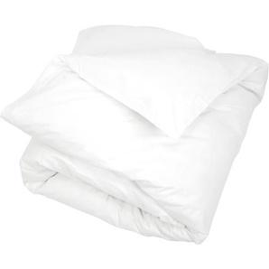 Housse de couette uni 240x220 cm 100% coton ALTO Blanc