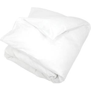 Housse de couette uni 260x240 cm 100% coton ALTO Blanc
