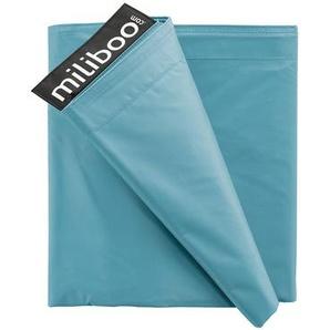 Housse de pouf géant bleu canard BIG MILIBAG