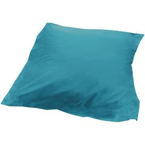 Housse dédredon uni 140x150 cm 100% coton ALTO bleu colibri
