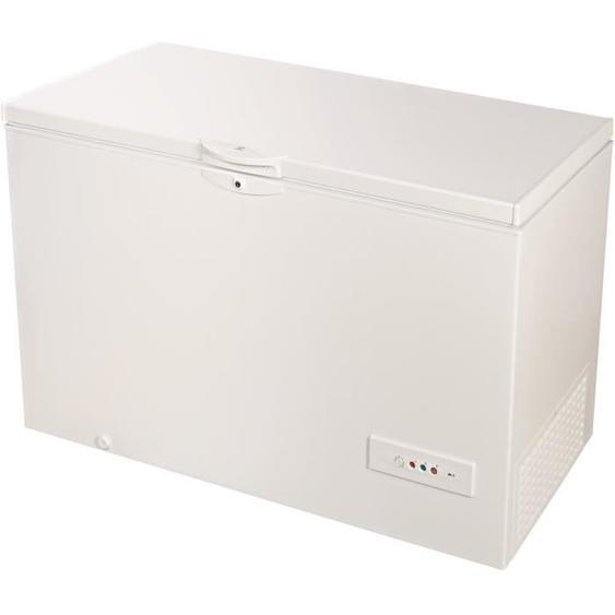 INDESIT OS1A450H - Congélateur horizontal - 437 L - A+ - L 140,5 x H 91,6 cm